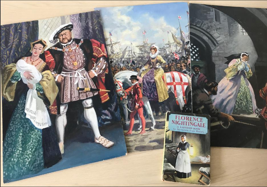John Kenney's artwork for Queen Elizabeth