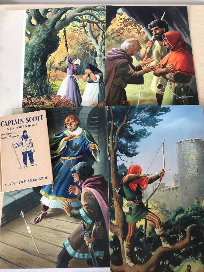 John Kenney original artwork Robin Hood